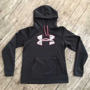 Under Armour Hoodie Black, Hot Pink, White LNC